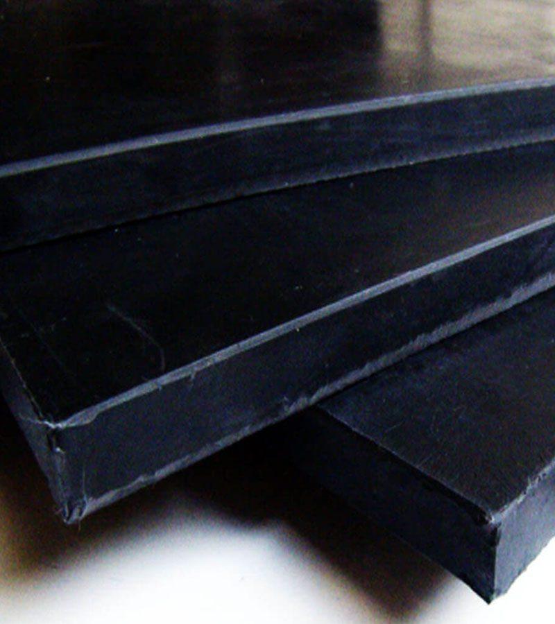 Esponja de hule natural en placas