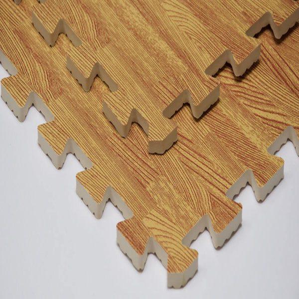 Piso armable imitación madera